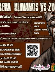 II Carrera Humanos vs Zombies