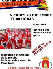 I Carrera Popular Papá Noel