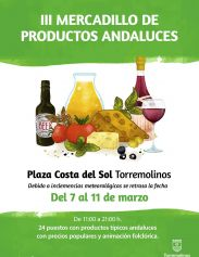 III Mercadillo de Productos Andaluces