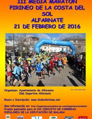 III Media Maratón Pirineo Costa del Sol